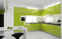 Цвет кухни и сочетание с отделкой стен, мебелью и аксессуарами.