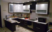 Какая должна быть высота шкафов на кухне.