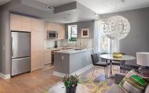 Серая кухня: примеры интерьера и сочетания цветов